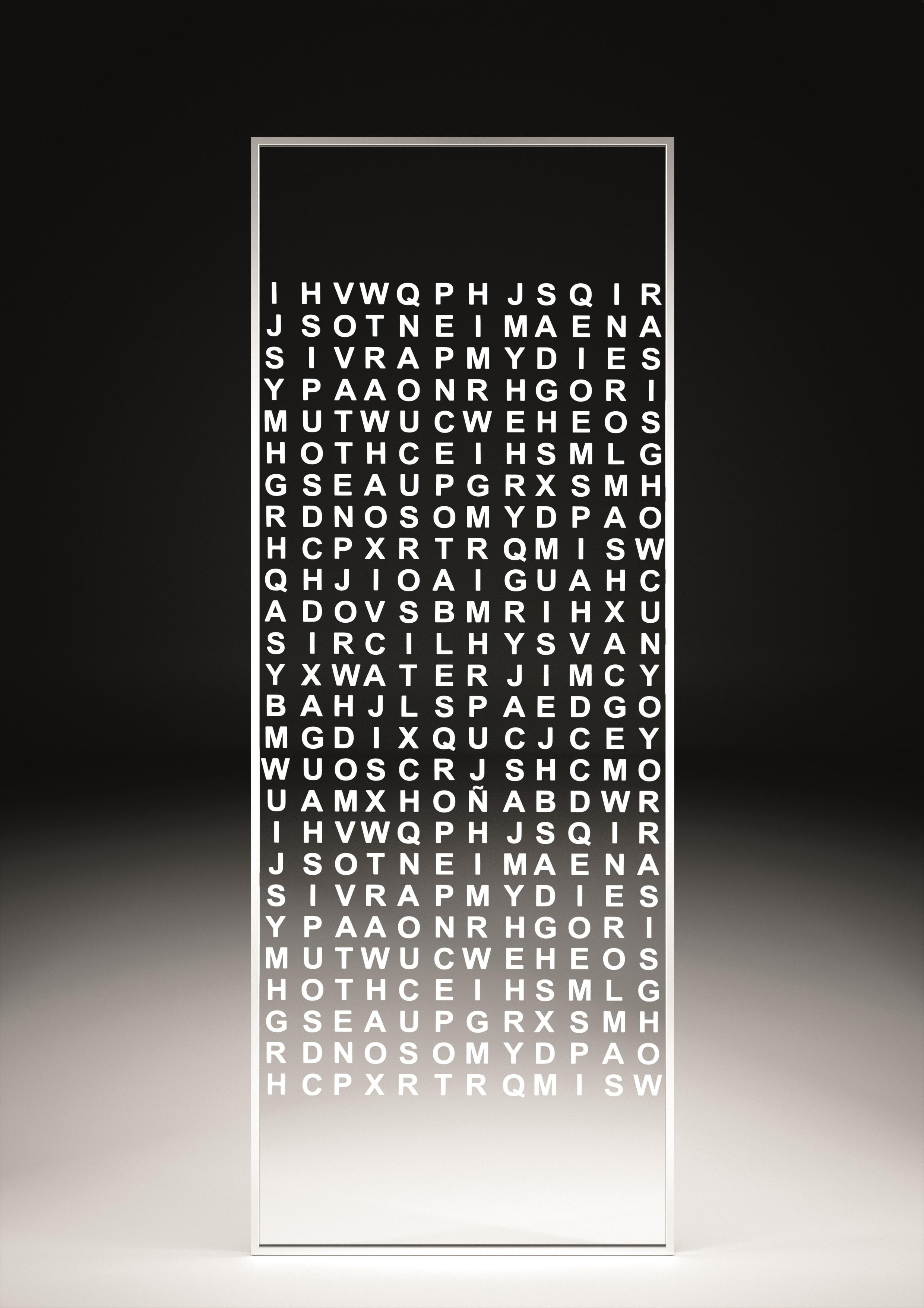 Serigrafía letras
